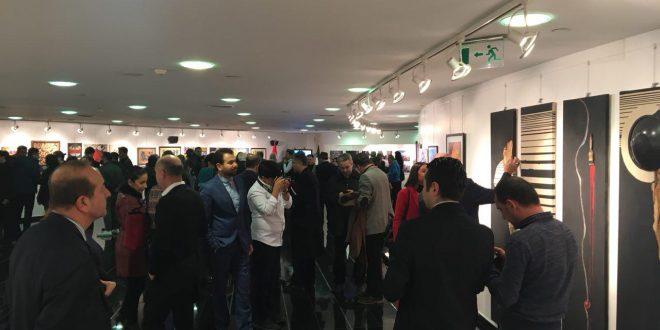 سومین نمایشگاه هنری به مناسبت دهه فجر انقلاب اسلامی برگزار گردید